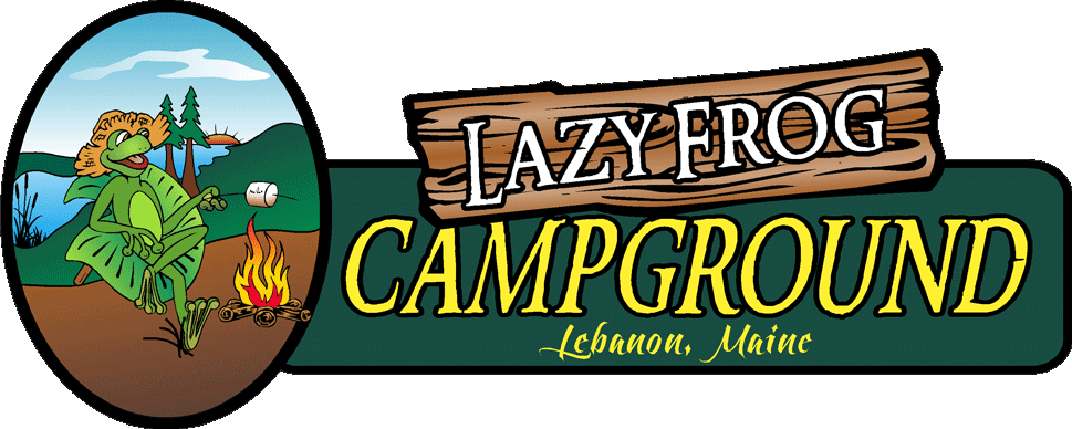 Lazy Frog Campground Logo